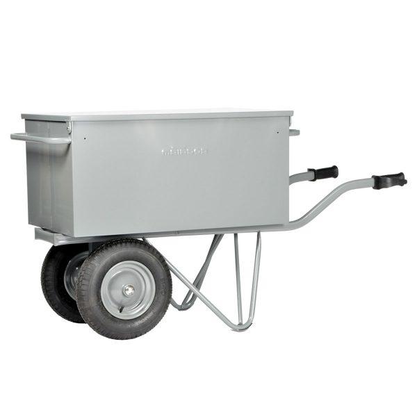 Brouette boite à outils 2 roues pneu-