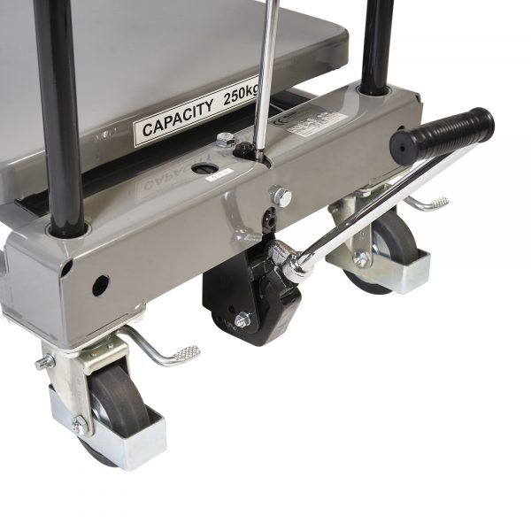 Hydraulic liftingtable 250kg LT-H250-8E