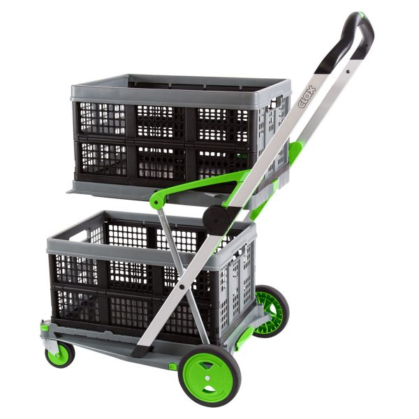 Folding crate for Clax Trolley