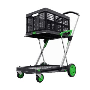 Clax Trolley gruen inkl. Faltbox
