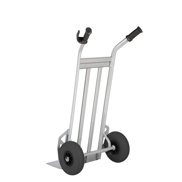 Handtruck with fixed nose plate