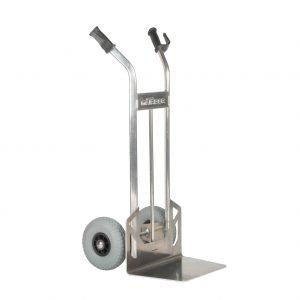 Stapelkarre aluminium m. fester Schaufel