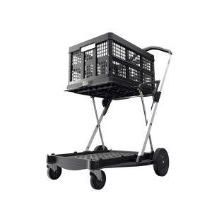 Clax Trolley schwarz inkl. Faltbox