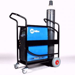 Logistics-Welding-machine-trolley-with-puncture-proof-wheels